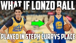 WHAT IF LONZO BALL PLAYED FOR THE WARRIORS INSTEAD OF STEPH CURRY? NBA 2K17 GAMEPLAY!
