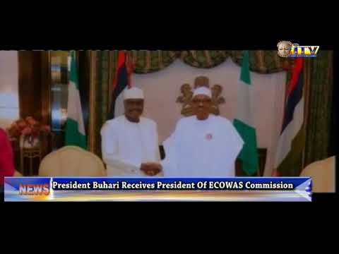 President Buhari Receives President Of ECOWAS Commission