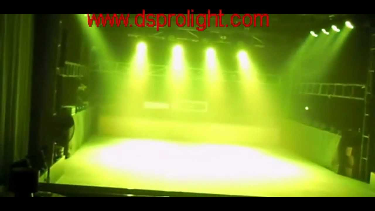 54 3w Led Par Cans Par Can Light Dj Lighting Equipmen