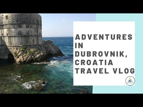 Adventures in Dubrovnik, Croatia | Travel Vlog | Annie Bean