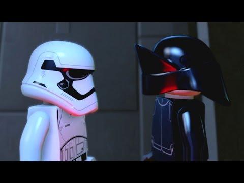 LEGO Star Wars: The Force Awakens - Escape From Starkiller Base Walkthrough (All Minikits)