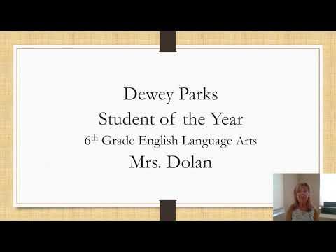 R. Dan Nolan Middle School 6th Grade Award Ceremony