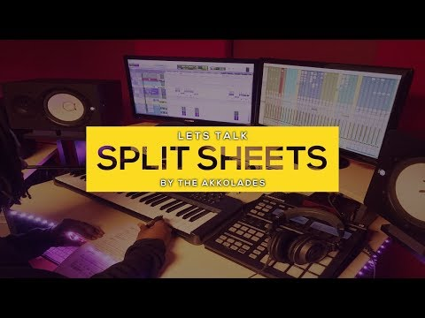 Split Sheets & Why They Are Important | Music Business | Songwriters | Music Producers | Publishing
