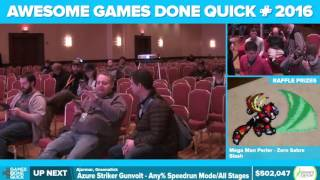 Azure Striker Gunvolt by Ajarmar, Greenalink in 51:00 - Awesome Games Done Quick 2016 - Part 117