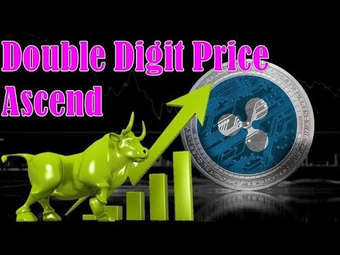 Ripple's XRP Latest Wrapped Up : Double Digit Price Ascend
