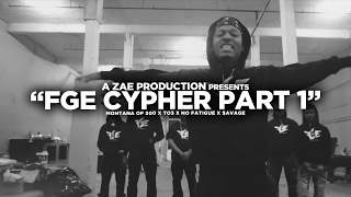 Смотреть клип Montana Of 300 X To3 X $Avage X No Fatigue - Fge Cypher