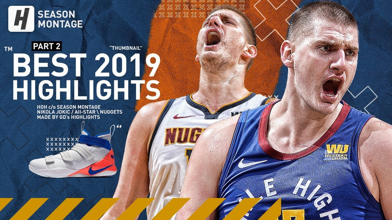 Nikola Jokic BEST Highlights & Moments from 2018-19 NBA Season! Triple-Double Machine!