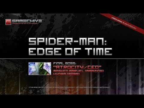 Spider-Man: Edge of Time (PS3) Gamechive (Atrocity/CEO, Pt 8: Masked Marvel, Hydra)