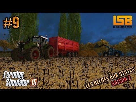 RôlePlay   Les Belges aux States #9 S2   Un décès   Farming simulator 15