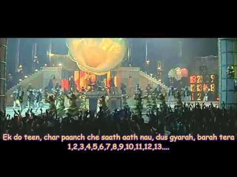 Ek do teen (1, 2, 3) - Tezaab (Sub. español)   Madhuri Dixit