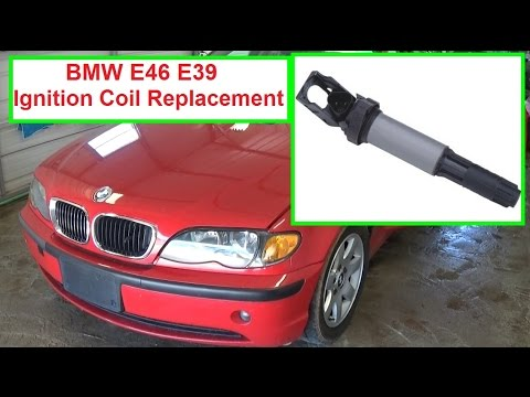 BMW e46 Ignition Coil Replacement! Code P0301 P0302 P0303 P0304 P0305 P0306  323I 325I 328I 330I
