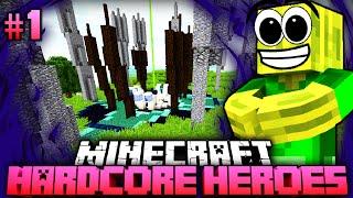 Ein RASANTES ABENTEUER!! - Minecraft Hardcore Heroes 4 - #01 [Deutsch/HD]