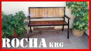 Video BANCO DE HIERRO Y MADERA // DIRESTA steel & wood bench // homemade download MP3, 3GP, MP4, WEBM, AVI, FLV Juli 2018
