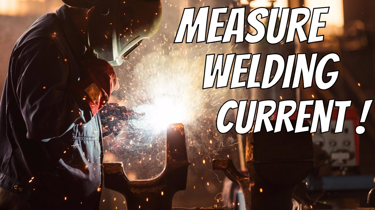 Measure Arc Welding Machine Current with clamp meter Deadshort 300+ Amps !