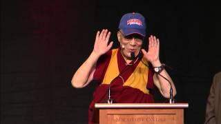 Mutluluk, yerine Getirilmesi ve düzenlemenin HH Dalai Lama: Doğa