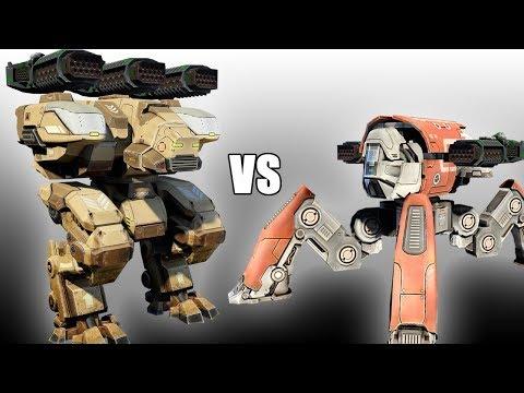 Fury (Thunders) vs Raijin (Thunders) - AnakinTEST #25 | War Robots