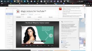 mozilla firefox & google chrome black dark -  help disclose more on youtube