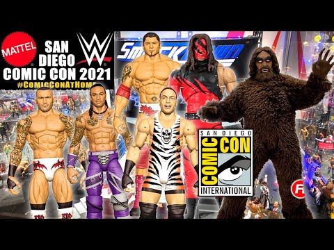 Download INSANE WWE FIGURE REVEALS AT SDCC 2021!