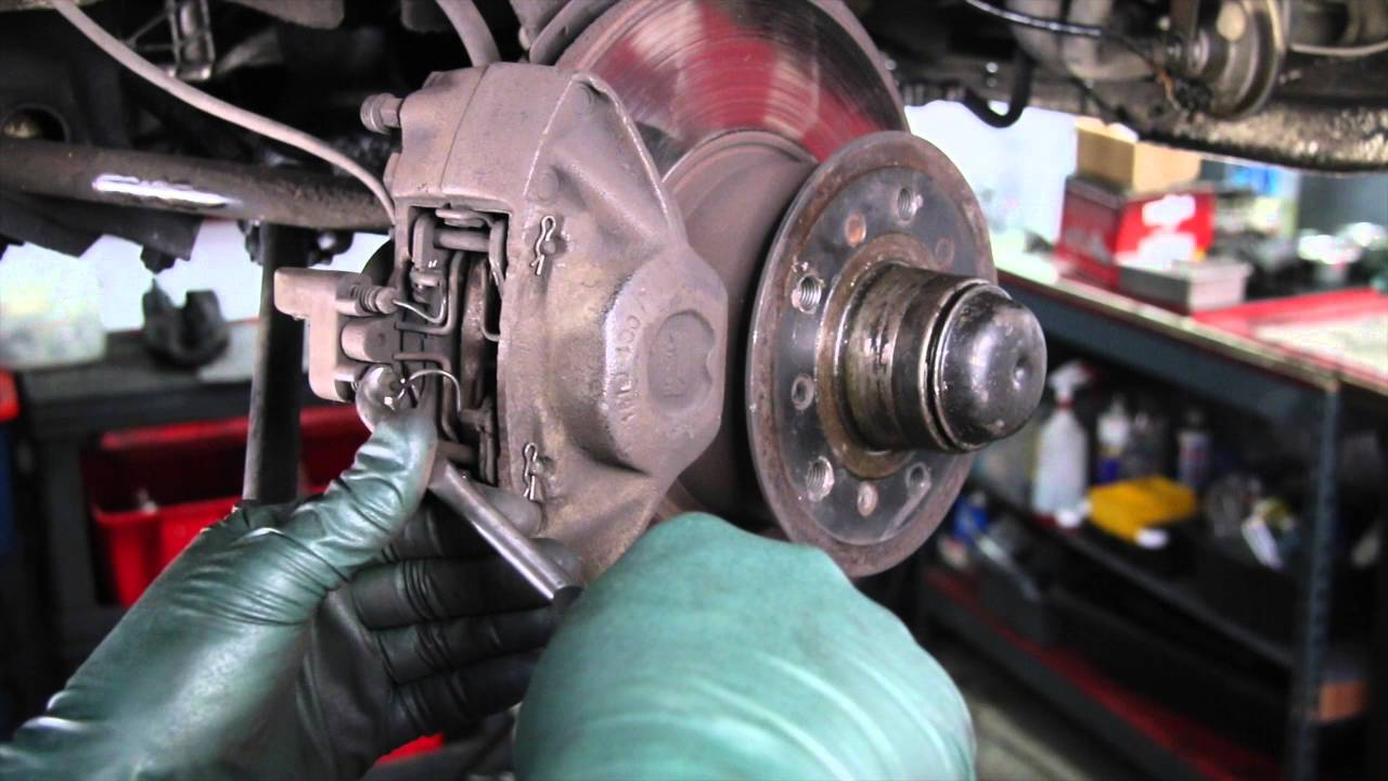 how to remove and replace brake pad sensor wires with ease [ 1280 x 720 Pixel ]