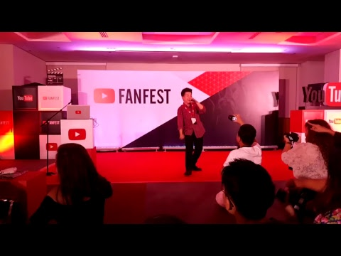Karl Zarate performs at Youtube Fanfest Manila 2017 Creator Camp