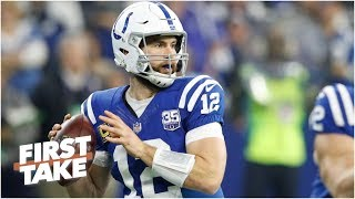 Colts have the best chances of making the playoffs over the Steelers, Eagles and Titans l First Take