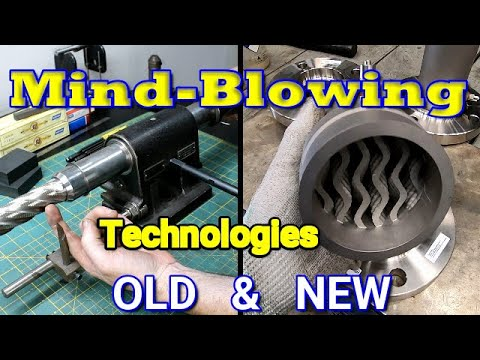 Amazing Shop Technologies Old And New, Mixed Bag
