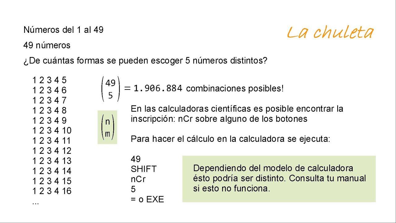 Cómo calcular coeficientes binomiales - YouTube
