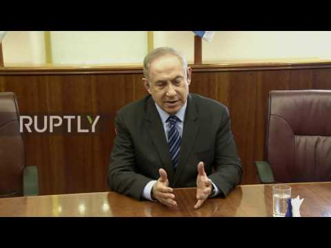 Israel: Netanyahu comments on Israeli airstrikes inside Syria