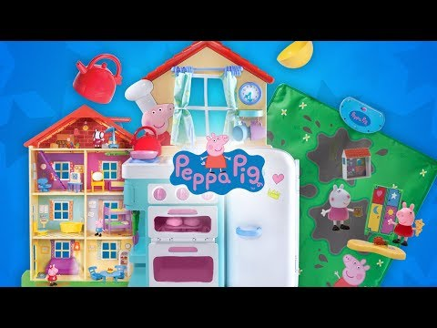 NEW PEPPA PIG TOYS JUST IN TIME FOR THE HOLIDAYS! | A Toy Insider Play by Play