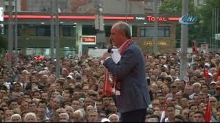 Muharrem İnce, Eskişehir'de halka seslendi