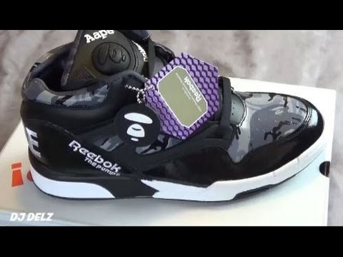 AAPE By A Bathing Ape x Reebok Classics Omni Lite Pump Shoe Unboxing + On  Feet #ThisIsClassic - YouTube