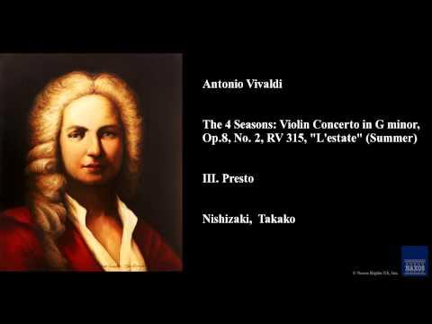 Antonio Vivaldi, III. Presto