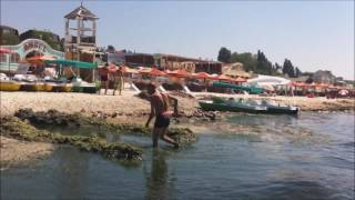 Херсонский курорт Железный порт - это реально помойка(Вместо широко разрекламированного европейского курорта - вонь, болото, руины, грязь, антисанитария., 2016-07-16T18:14:07.000Z)