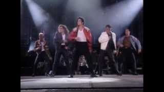 Michael Jackson - From Rehearsal To Performance: Beat It