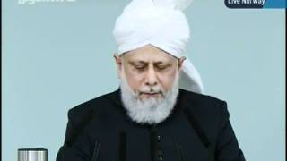 KHUTBA JUMA FROM NORWAY NEW MOSQUE 30-9-2011 PERSENTING KHALID QADIANI_clip3.flv