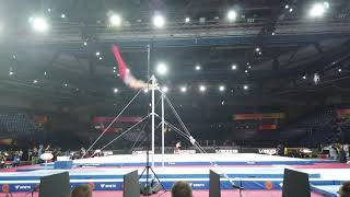 Routine of the Day: Sam Mikulak High Bar
