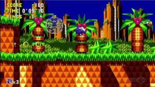 Sonic CD (2011 re-release) 1st trailer