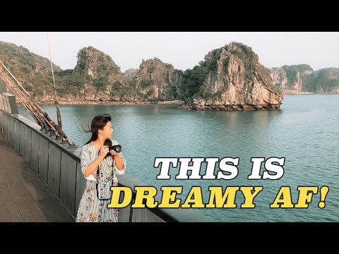 BUCKET LIST Ha Long Bay Luxury Cruise in Vietnam!
