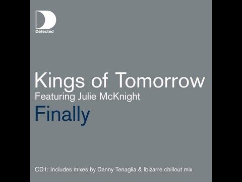 Kings of Tomorrow featuring Julie McKnight - Finally (Danny Krivit: Steve Travolta Re-edit)