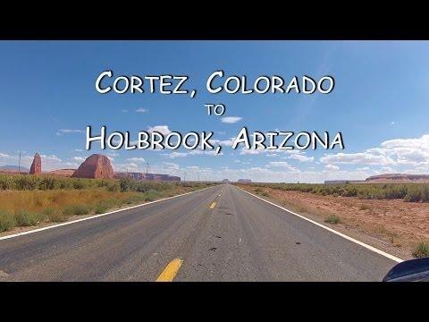 Colorado Motorcycle Trip: Cortez to Holbrook