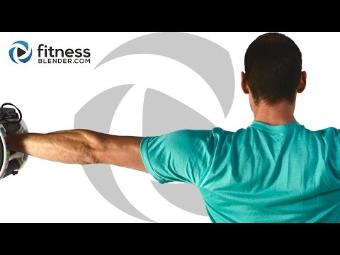 Upper Body Workout for Great Shoulders Arms, Back, Chest & Shoulder Workout