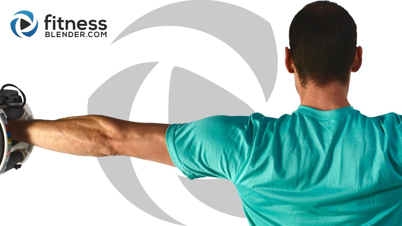 Upper Body Workout For Great Shoulders