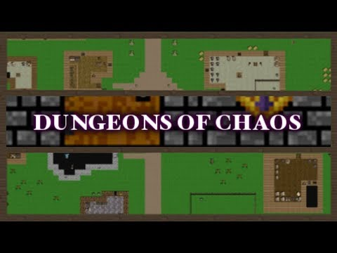 Dungeons Of Chaos - (Classic Party Based RPG / Roguelike Game)