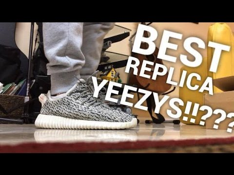 4e5839a0c JEFF YEEZY BEST REPLICA YEEZY BOOST 350    +REVIEW ON FEET - YouTube