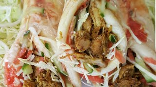 Chicken Shawarma recipe at home by village food with jana