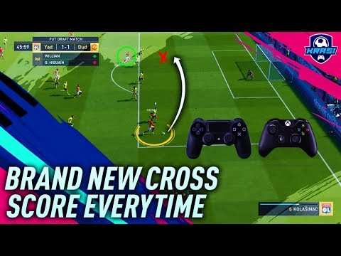 FIFA 19 CROSSING TUTORIAL - NEW GLITCH - HOW TO SCORE GOALS EVERYTIME - BEST GAME CHANGING TRICK