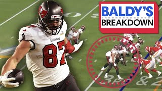 Breaking Down How Gronk Proved He was the GOAT Tight End in SB LV | Baldy Breakdowns