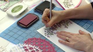 Create Dimension and Detail with Intricate Dies and Background Stamps