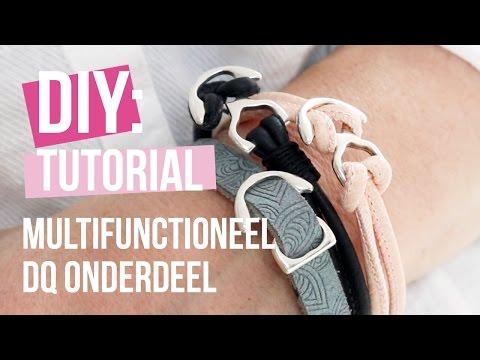 Sieraden maken: Multifunctioneel tussenstuk en slot van DQ metaal ♡ DIY