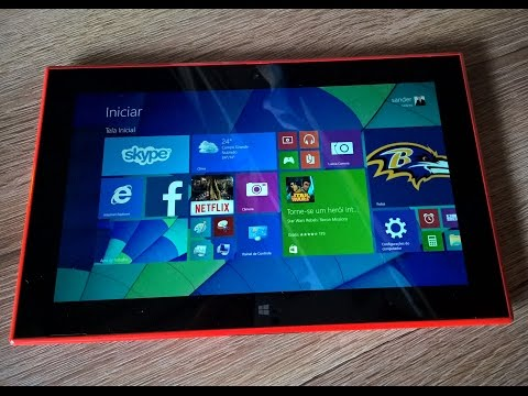 Unboxing e Primeiras Impressões Nokia Lumia 2520 Tablet com Windows 8.1 RT